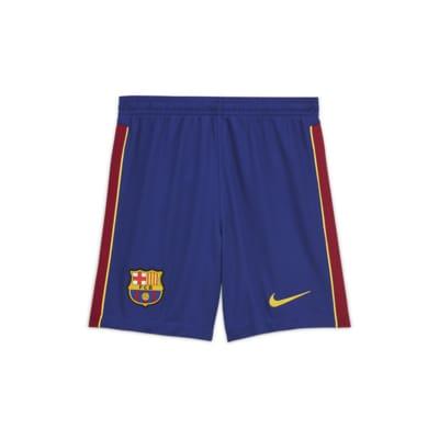 FC Barcelona 2020/21 Stadium Home/Away Fußballshorts für ältere Kinder
