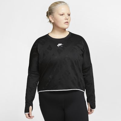 Nike Air Women's Long-Sleeve Running Top (Plus Size)