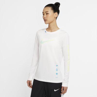 ナイキ スポーツウェア ウィメンズ ロングスリーブ Tシャツ