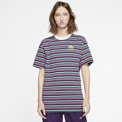 ナイキ x オリビア キム ストライプ Tシャツ
