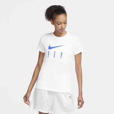 Tee-shirt de basketball Nike Dri-FIT Swoosh Fly pour Femme