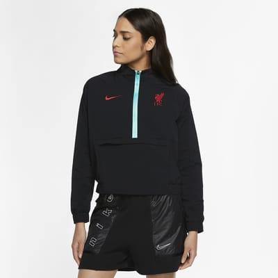Veste de football à 1/4 de zip Liverpool FC pour Femme