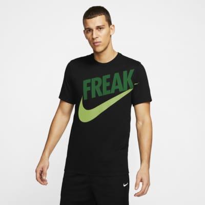 "T-shirt de basquetebol Nike Dri-FIT Giannis ""Freak"" Naija para homem"