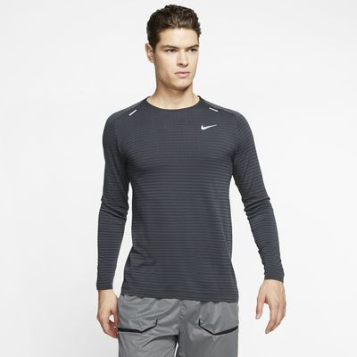 Pánský běžecký top Nike TechKnit Ultra s dlouhým rukávem