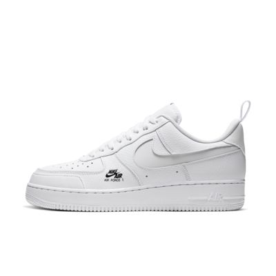 CV3039 100 NIKE AIR FORCE 1 LV8 UTILITY WHITEWHITE GREY FOG BLACK Nike air force 1 LV8 utility white