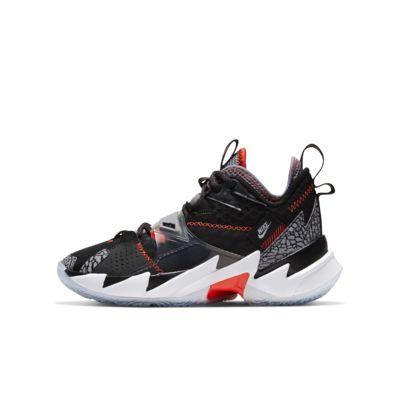 """Jordan """"Why Not?"""" Zer0.3 Genç Çocuk Basketbol Ayakkabısı"""