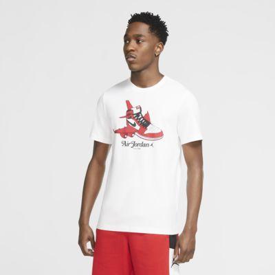 เสื้อคอกลมแขนสั้นผู้ชายมีกราฟิก Jordan Brand