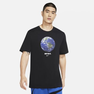 Nike Dri-FIT 'World Ball' Basketball-T-Shirt für Herren