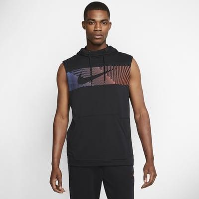 Nike Dri-FIT Men's Sleeveless Pullover Training Hoodie