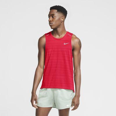 Canotta da running Nike Dri-FIT Miler - Uomo