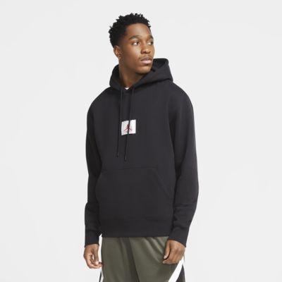 Jordan Flight-pullover-hættetrøje i fleece til mænd