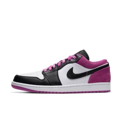 air jordan 1 retro rosa y blanco