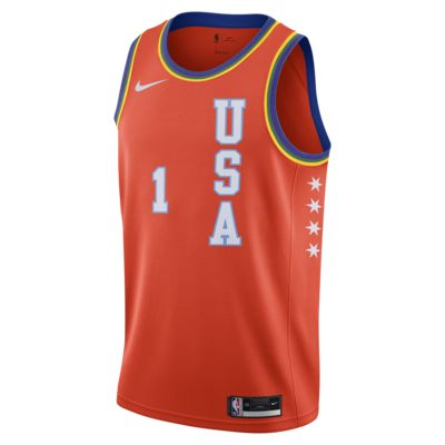 "Camiseta Nike NBA Swingman Zion Williamson All-Star USA ""Rising Stars"""