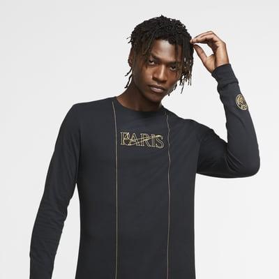 Paris Saint-Germain Men's Long-Sleeve Football T-Shirt