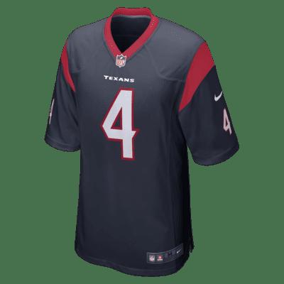 NFL Houston Texans (Deshaun Watson) Men's Game Football Jersey