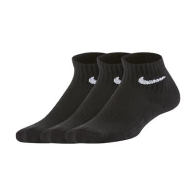 Nike Everyday gepolsterte Knöchelsocken für jüngere Kinder (3 Paar)