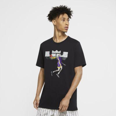 Nike Dri-FIT LeBron Logo Erkek Basketbol Tişörtü