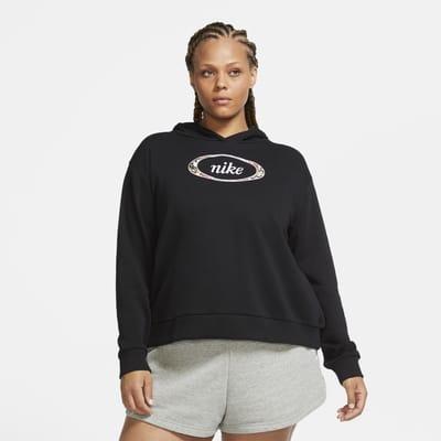 Nike Sportswear Dessuadora amb caputxa de teixit Fleece (talles grans) - Dona