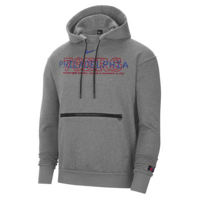 76ers Courtside Men's Nike NBA Pullover Hoodie