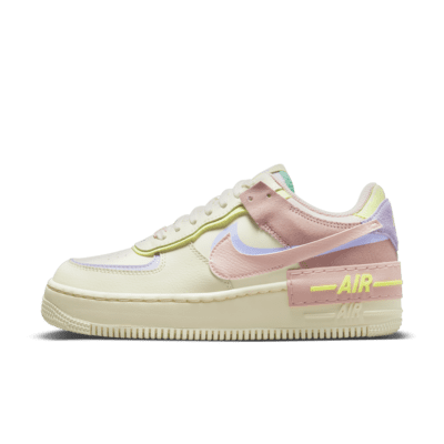 air force 1 donna rosa e nere