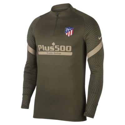Atlético de Madrid Strike Drill-Fußballoberteil für Herren