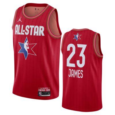 LeBron James All-Star Jordan NBA Swingman Jersey
