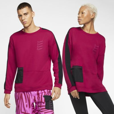 Prenda para la parte superior de entrenamiento de tejido Fleece para hombre Nike Dri-FIT