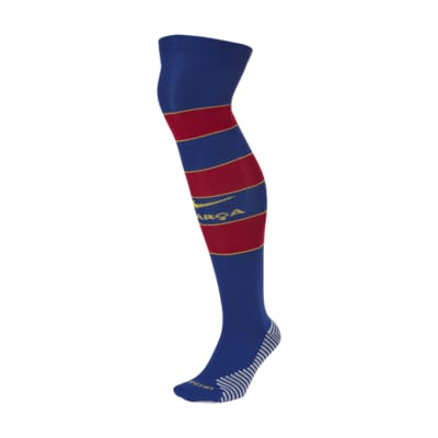 F.C. Barcelona 2020/21 Stadium Home Over-the-Calf Football Socks