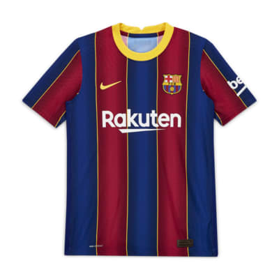 F.C. Barcelona 2020/21 Vapor Match Home Older Kids' Football Shirt