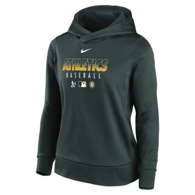 Nike Therma (MLB Oakland Athletics) Women's Pullover Hoodie