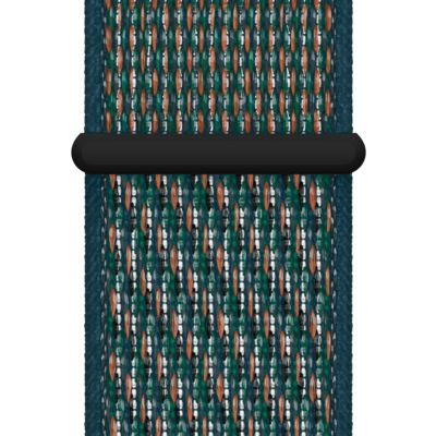 44mm Hyper Crimson/Neptune Green Nike Sport Loop