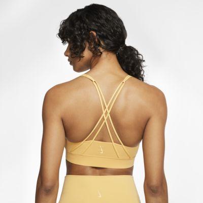 Nike Swoosh Luxe közepes tartást adó női sportmelltartó
