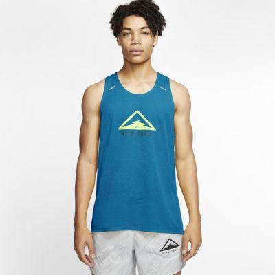 Pánské trailové běžecké tílko Nike Rise 365