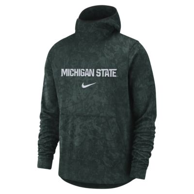 Nike College Dri-FIT Spotlight (Michigan State) Men's Pullover Basketball Hoodie