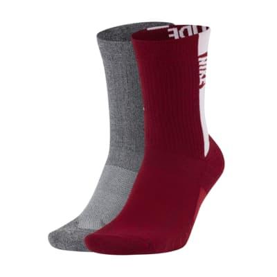 Nike College Multiplier (Alabama) Crew Socks (2 Pairs)