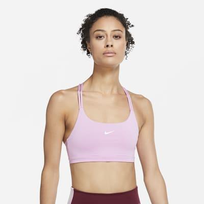 Nike Indy Niet-gewatteerde sport-bh met lichte ondersteuning