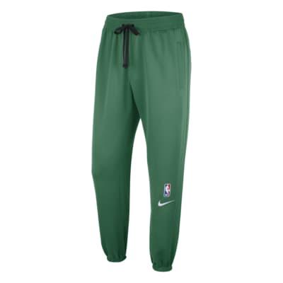 NBA-byxor Boston Celtics Showtime Nike Therma Flex för män