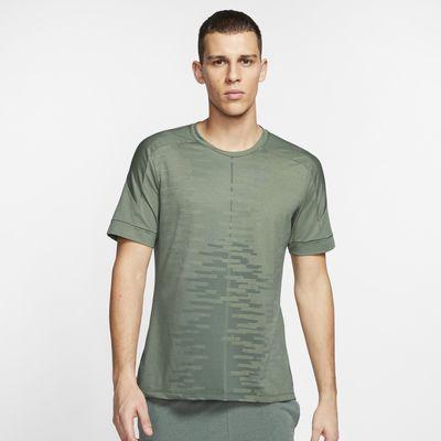 Nike Yoga Men's Short-Sleeve Top