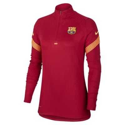 Haut d'entraînement de football FC Barcelona VaporKnit Strike pour Femme