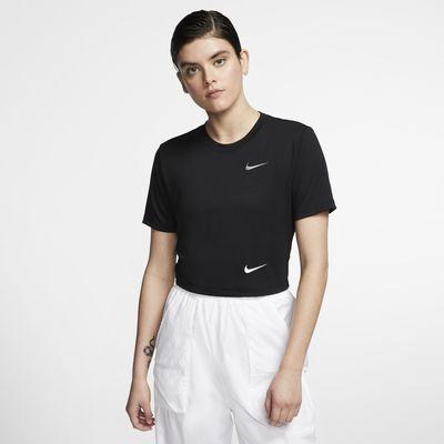 Женская укороченная футболка с облегающим кроем Nike Sportswear
