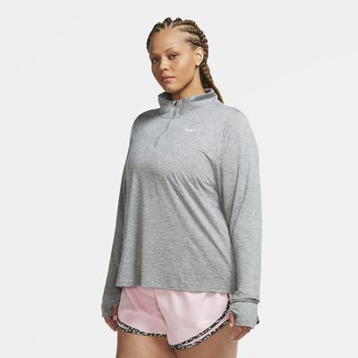 Nike Element Women's 1/2-Zip Running Top (Plus Size)