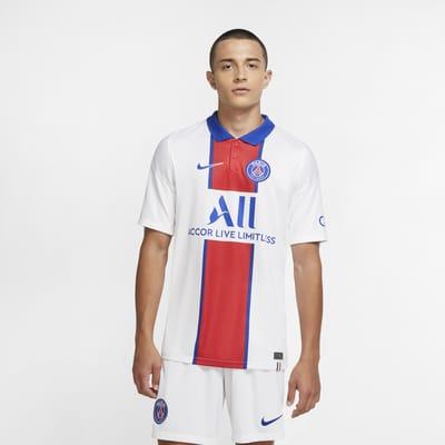 2020/21 赛季巴黎圣日耳曼客场球迷版男子足球球衣