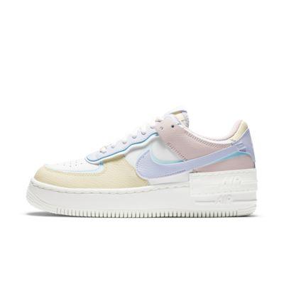 nike air force 1 rosas y blanco