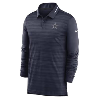 Nike Logo (NFL Cowboys) Men's Long-Sleeve Polo
