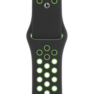 40mm Black/Lime Blast Nike Sport Band - Regular