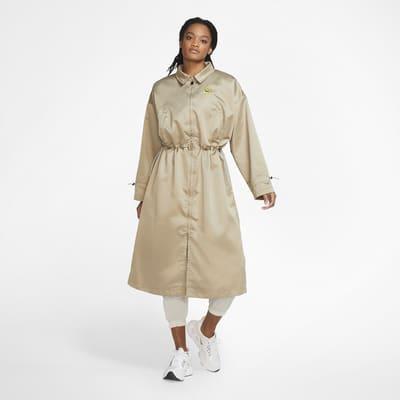 Nike Sportswear Icon Clash Women's Satin Long Jacket