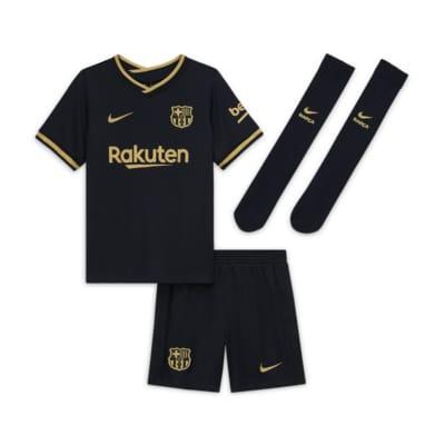 Equipamento de futebol alternativo FC Barcelona 2020/21 para criança