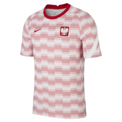 Poland Men's Short-Sleeve Football Top