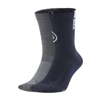 Nike College Multiplier (Penn State) Crew Socks (2 Pairs)