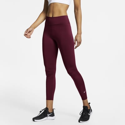 Nike One Women's Mid-Rise 7/8 Leggings